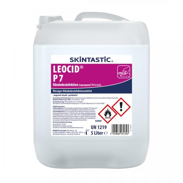 LEOCID P7 Händedesinfektion 5L