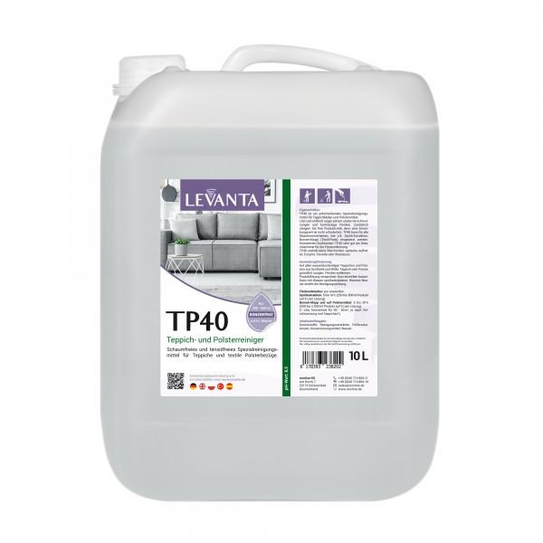 Levanta TP40 Tensidfreier Teppich- + Polsterreiniger 10 L