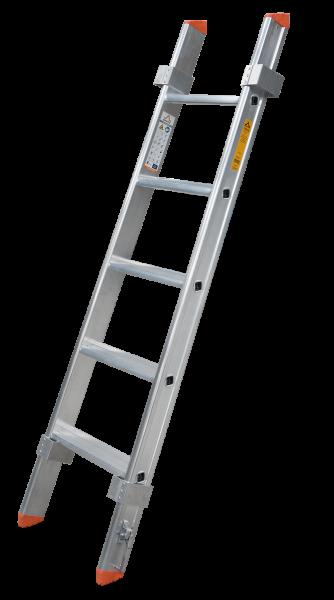 Glasreinigerleiter Mittelstück mit 5 Stufen