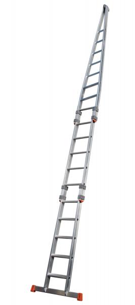 Stufen-Glasreinigerleiter, Satz 3-teilig