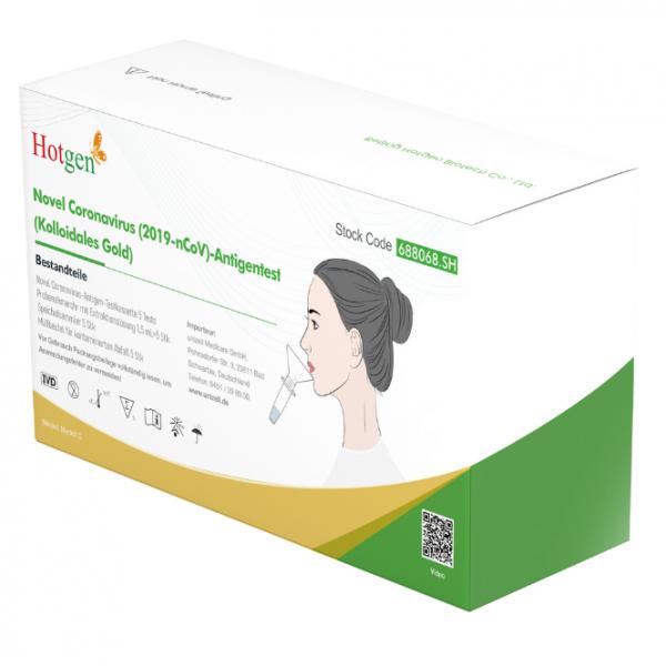 Antigen-Schnelltest für den Privaten Gebrauch, Spucktest